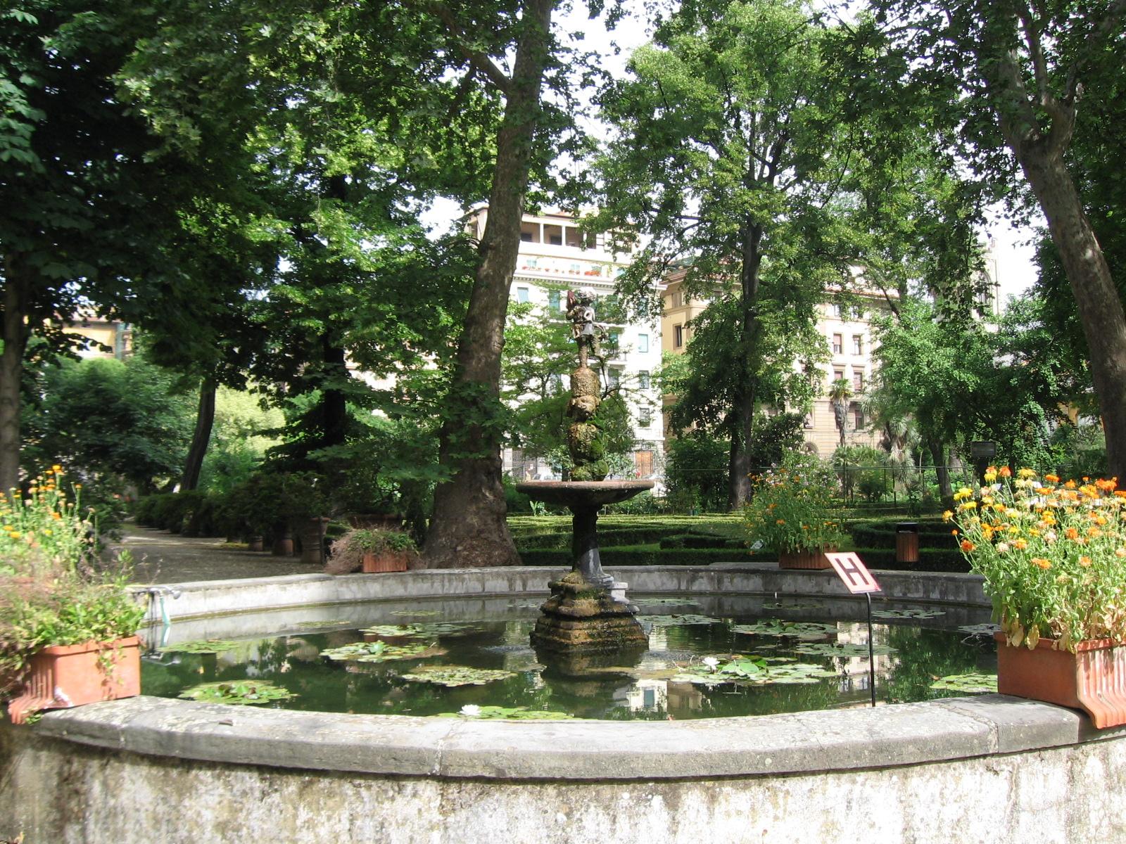 L 39 orto botanico di firenze festeggia 470 anni l erborista for Giardino orto botanico firenze